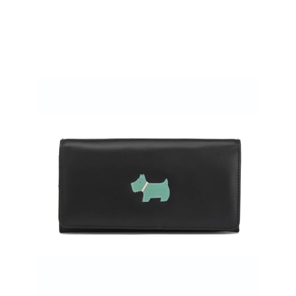 radley-women-heritage-dog-foldover-matinee-purse-black