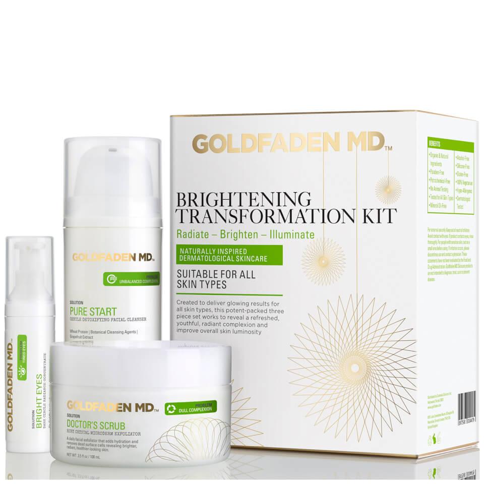 Image of Goldfaden MD Brightening Transformation Kit