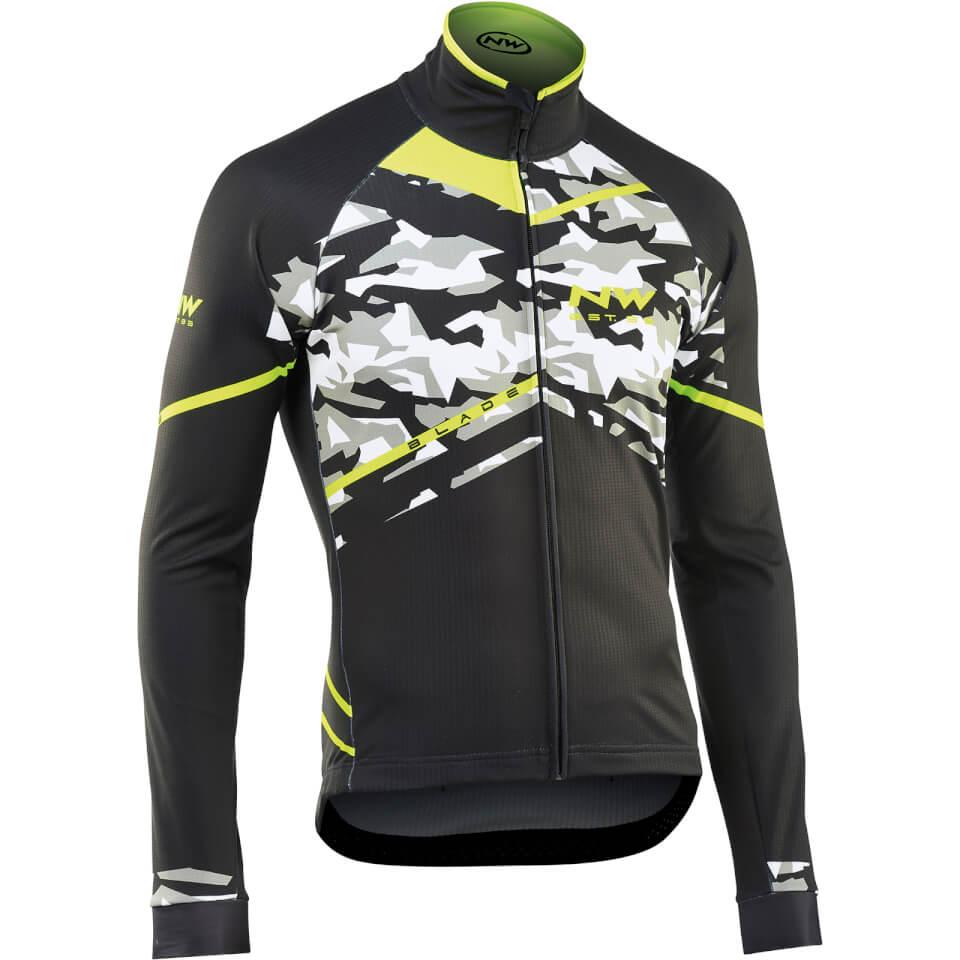 northwave-black-jacket-camo-yellow-m