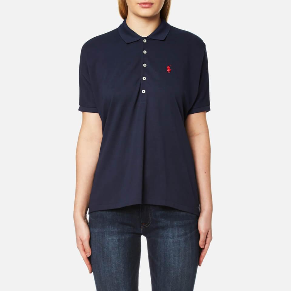 Polo Ralph Lauren Womens Poncho Polo T-shirt Newport Navy M
