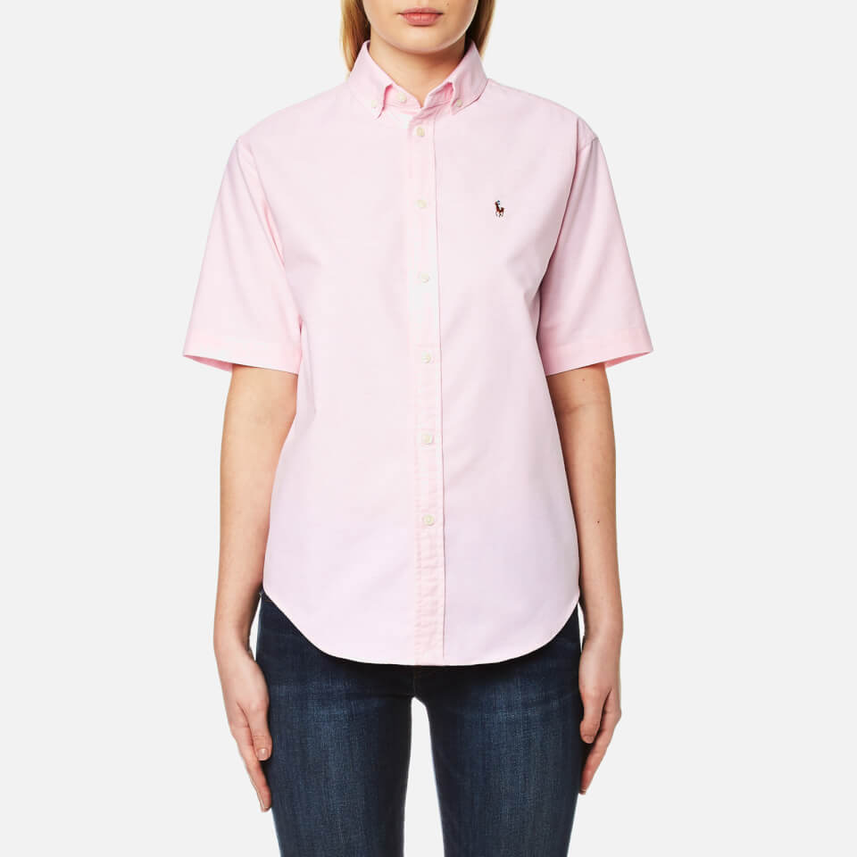 Polo Ralph Lauren Women 39 S Short Sleeve Shirt Deco Pink