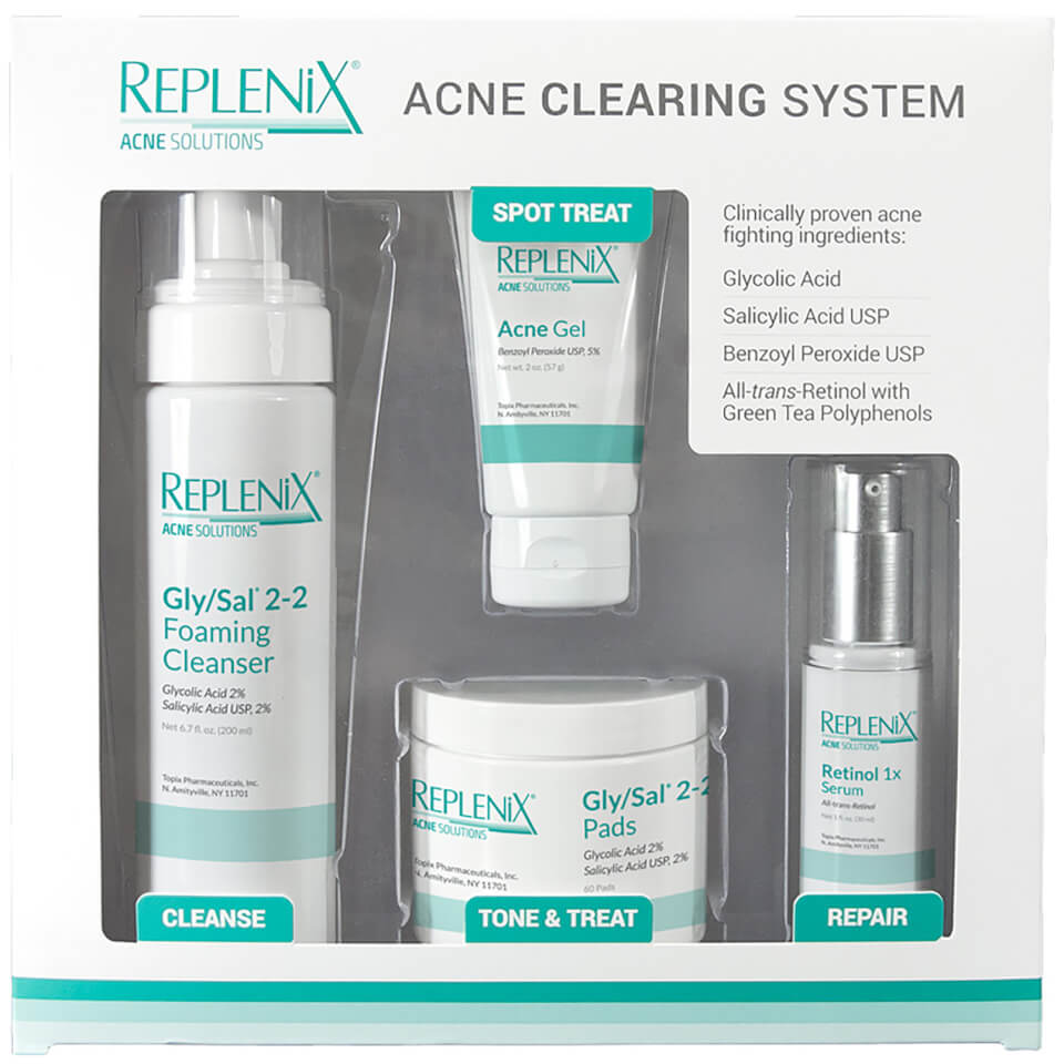 Image of Replenix Acne Solutions Acne Clearing System  Level 1