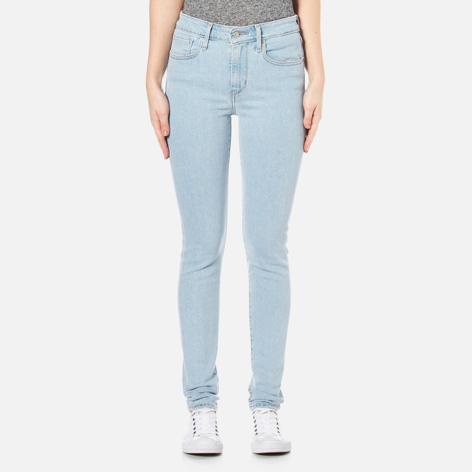 Levis Womens 721 High Rise Skinny Jeans Drawing A Blank W26/l32