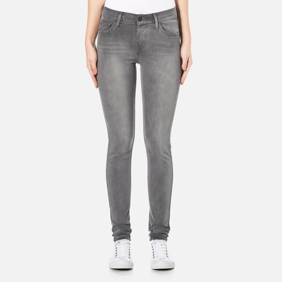 Levis Womens 710 Flawlessfx Super Skinny Jeans Status Quo W26/l32