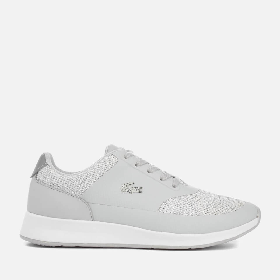 Lacoste Womens Chaumont Lace 117 1 Trainers Grey Uk 6