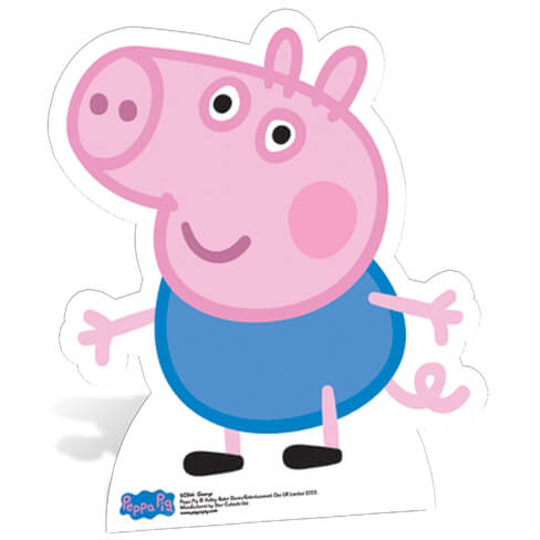 peppa-pig-george-pig-star-mini-cut-out