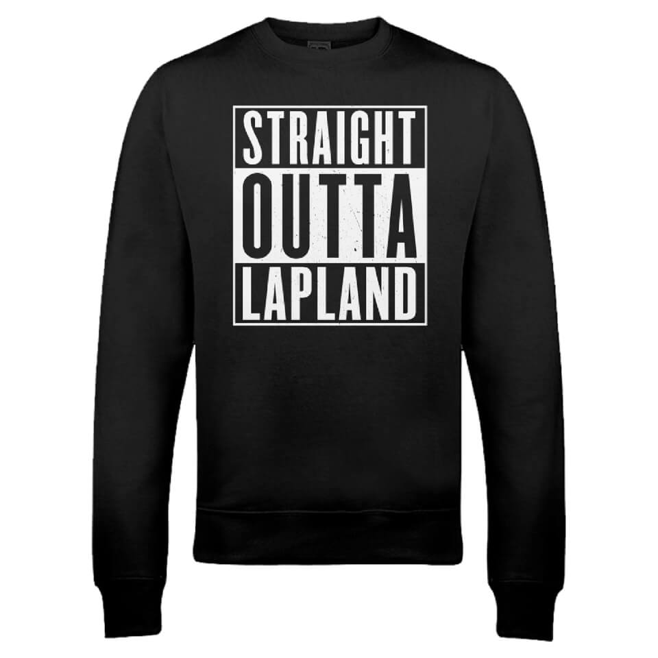 straight-outta-lapland-christmas-sweatshirt-black-s