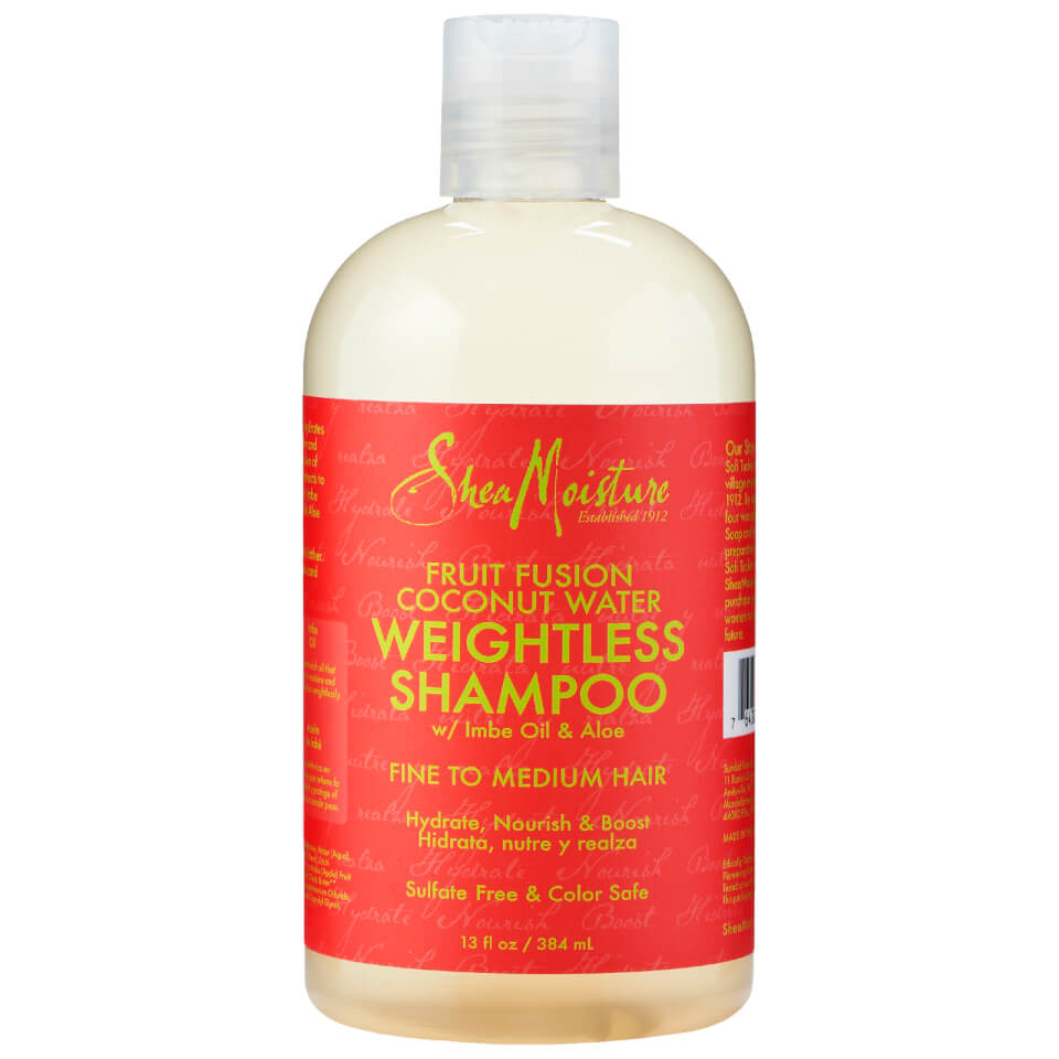 shea-moisture-fruit-fusion-weightless-shampoo-384ml
