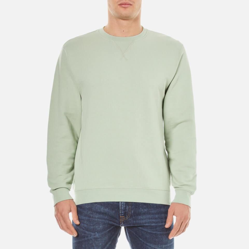 Edwin Mens Classic Crew Sweatshirt Mint Xl