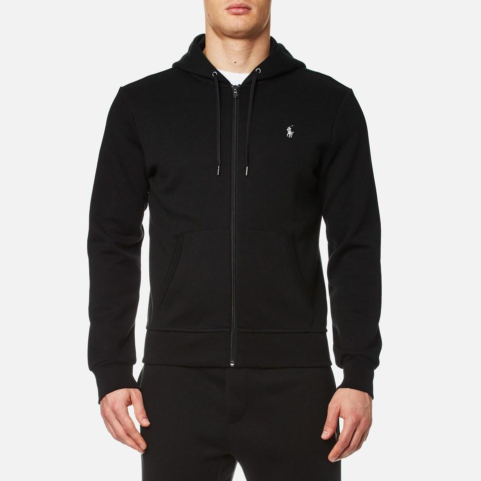 Polo Ralph Lauren Mens Double Knit Tech Zip Hoody Black Xxl