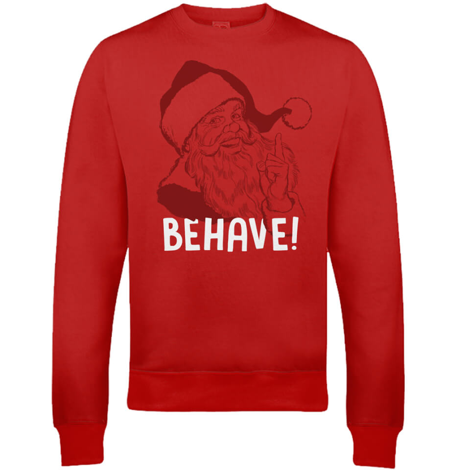 behave-christmas-sweatshirt-red-s