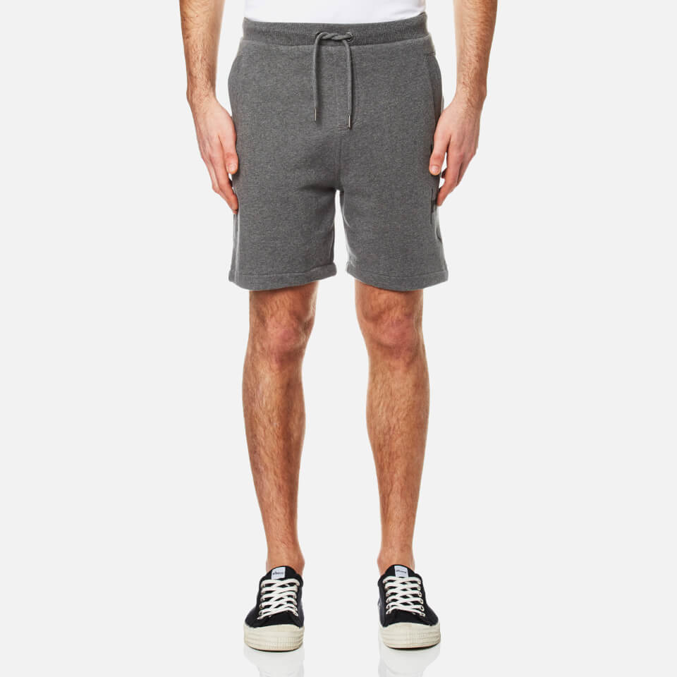 Calvin Klein Mens Haro 4 True Icon Sweat Shorts Mid Grey Heather S