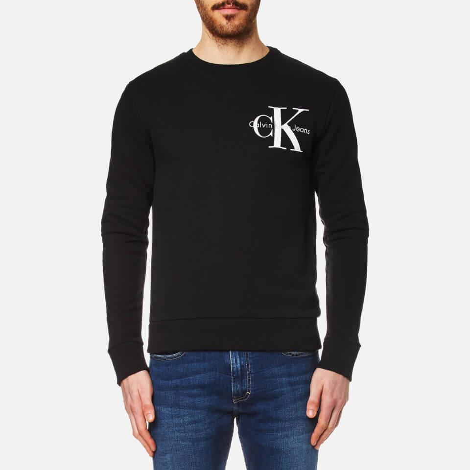Calvin Klein Mens Haro True Icon Sweatshirt Black Xxl