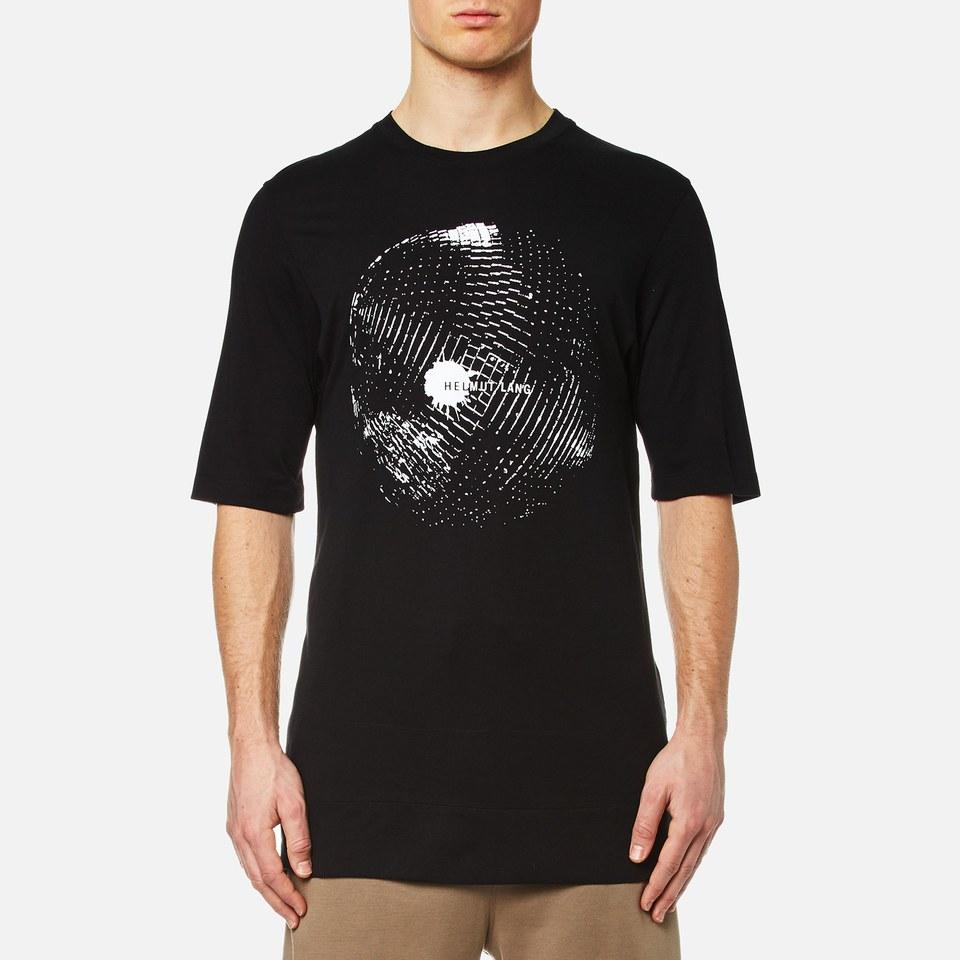 Helmut Lang Mens Disco Ball Print T-shirt Black L