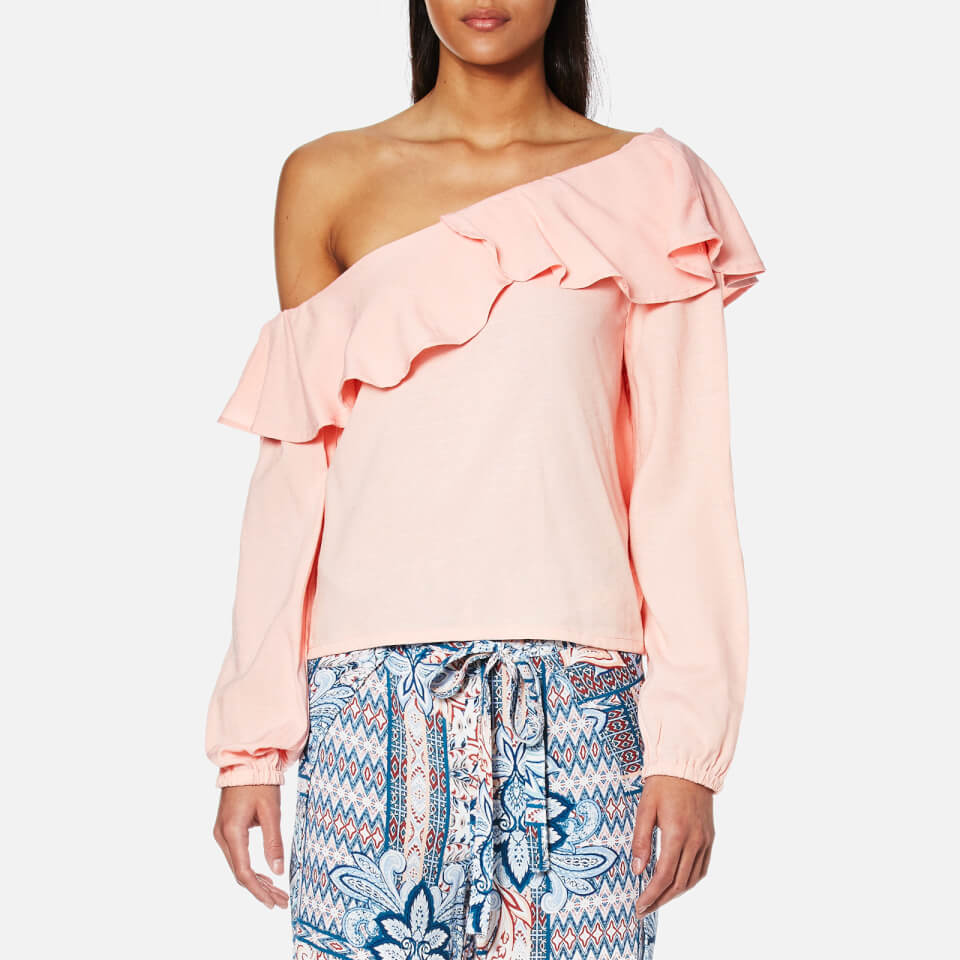 minkpink-women-on-the-sly-one-shoulder-top-blush-xs