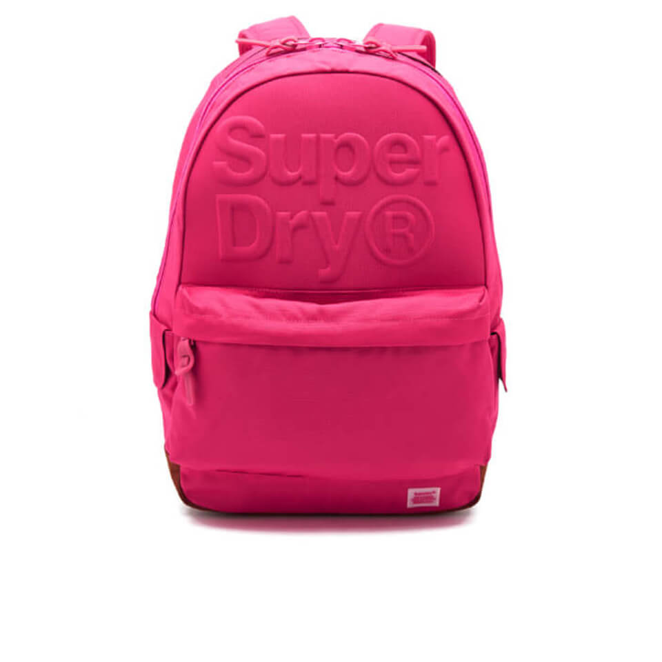 Superdry Women S Lineman Embossed Montana Backpack