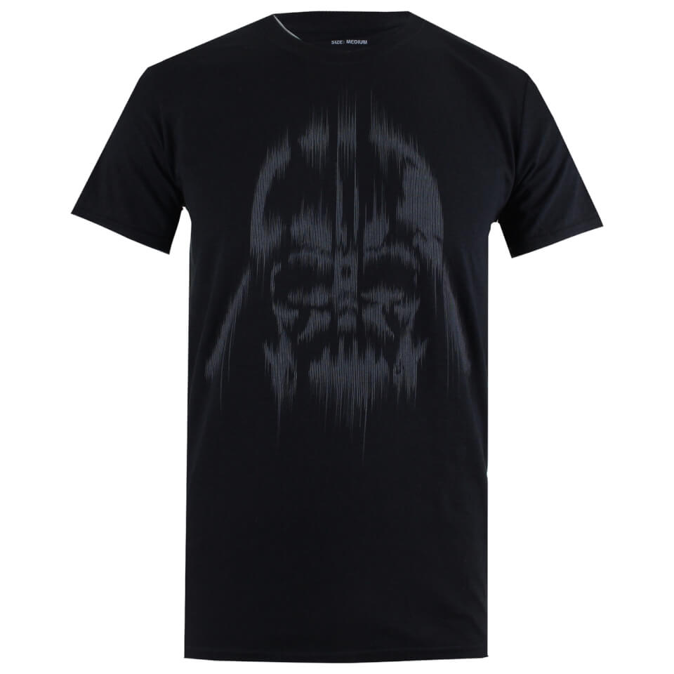 Star Wars Men's Vader Lines T Shirt Black XL