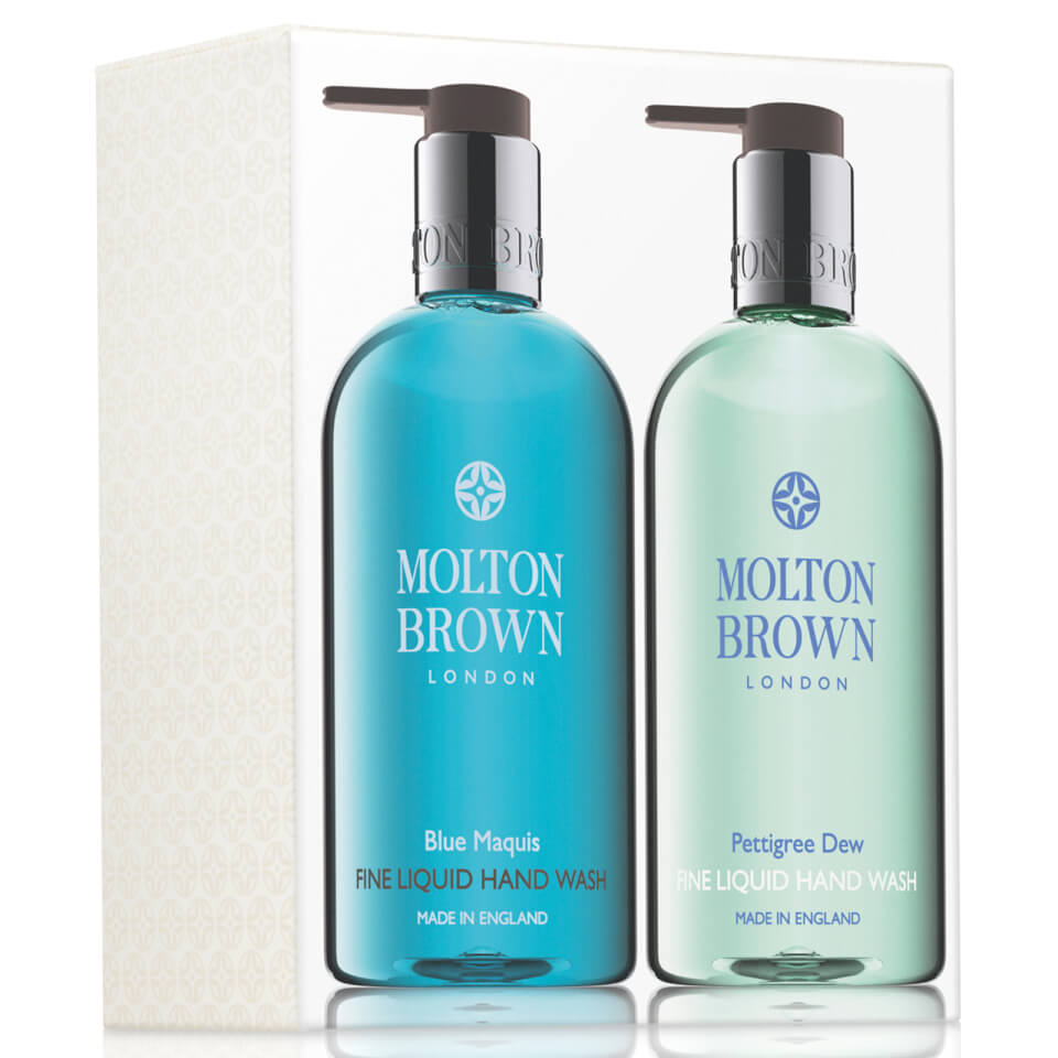 molton brown blue maquis pettigree dew hand wash set free shipping lookfantastic. Black Bedroom Furniture Sets. Home Design Ideas