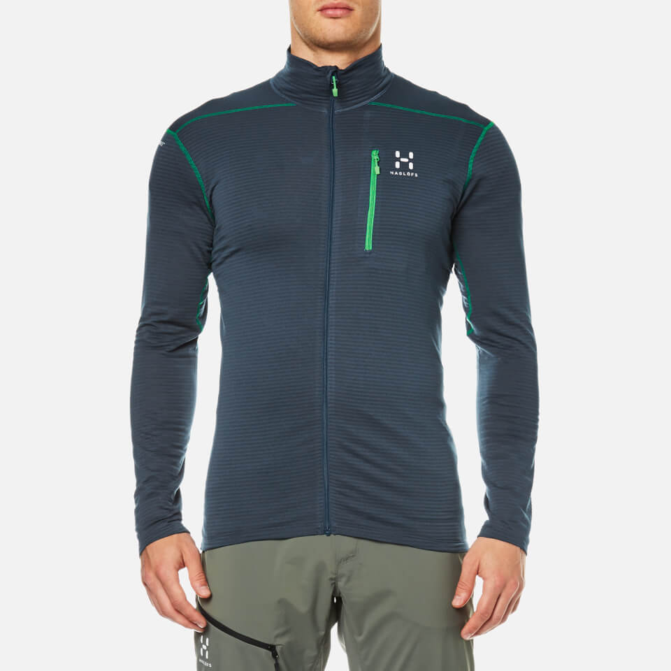 Haglofs Mens L.i.m Mid Jacket Blue Ink S