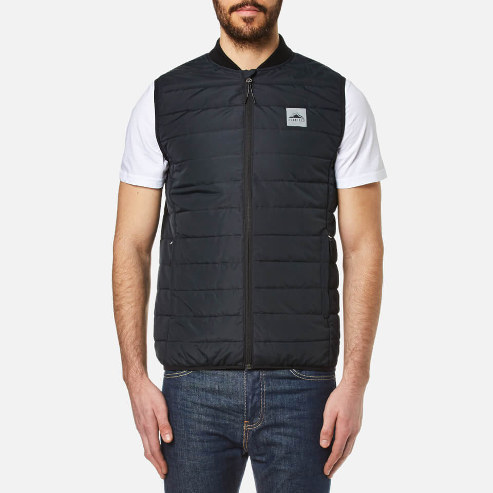 Penfield Mens Cooper Insulated Vest Black L