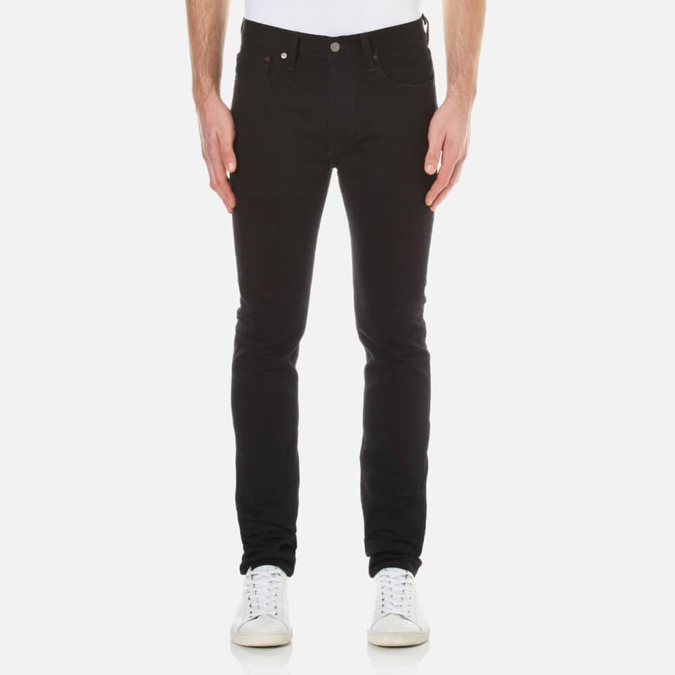 levi 39 s men 39 s 501 skinny jeans black punk free uk delivery over 50. Black Bedroom Furniture Sets. Home Design Ideas