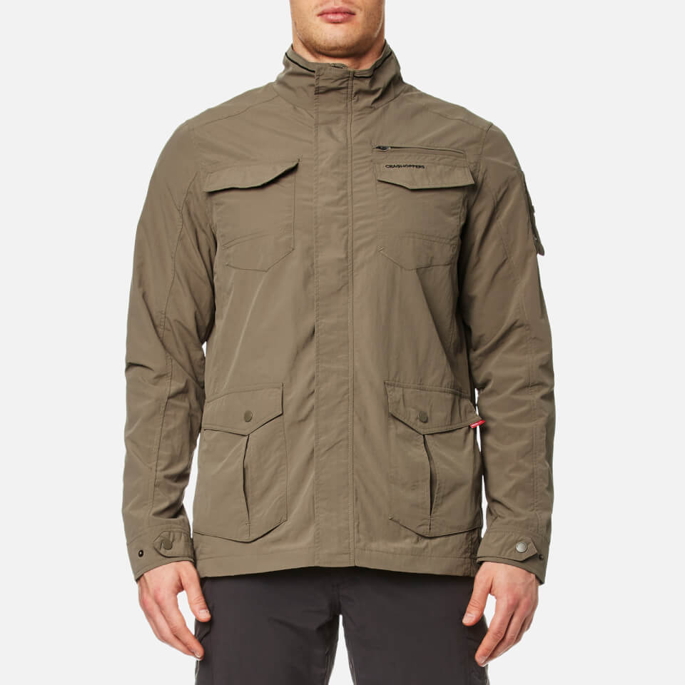 Craghoppers Mens Nosilife Adventure Jacket Pebble S