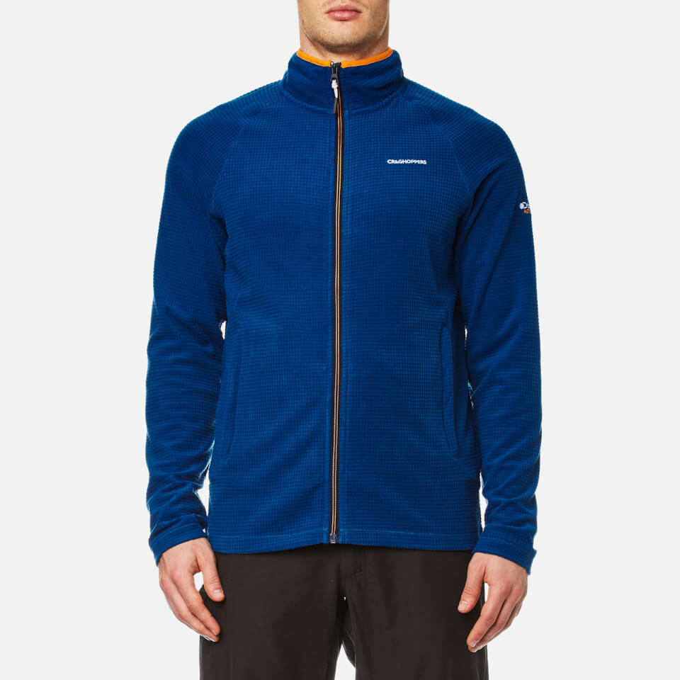 Craghoppers Mens Discovery Adventures Full Zip Jacket Deep Blue S