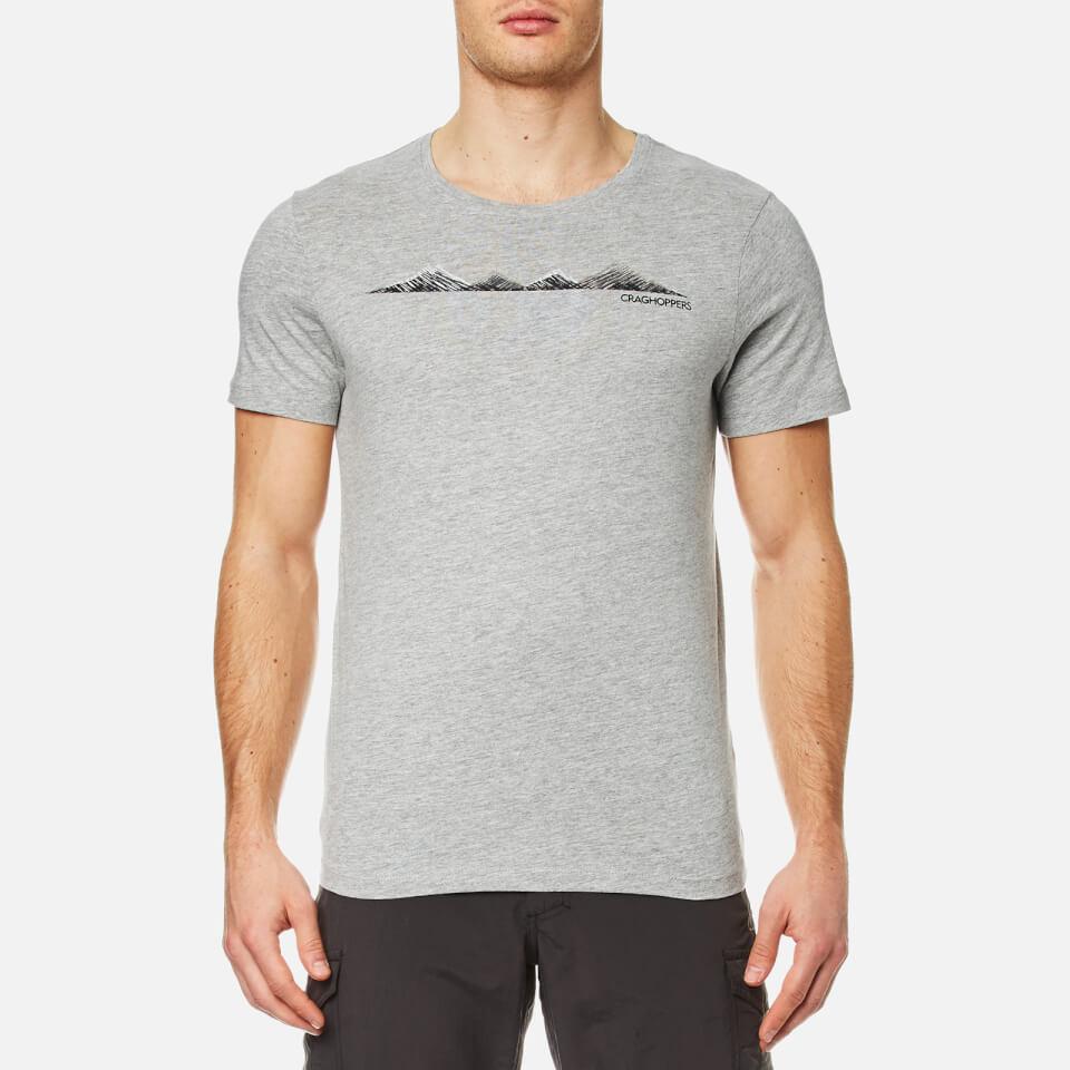 Craghoppers Mens Eastlake Linear Landscape Short Sleeve T Shirt   Soft | AVOLI.COM