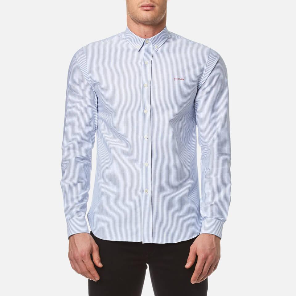 maison-labiche-men-paradis-long-sleeve-shirt-blue-stripes-s