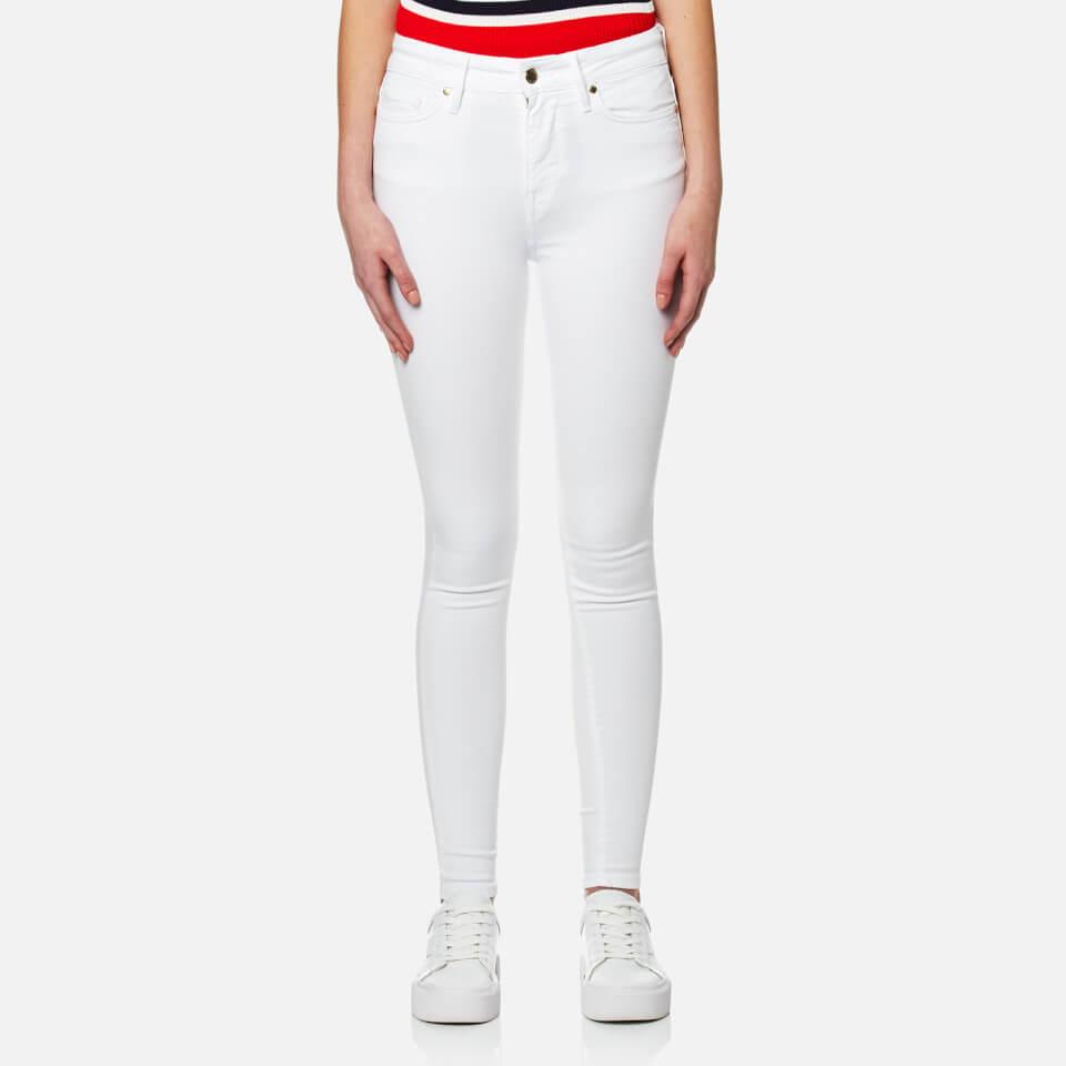 Tommy Hilfiger Womens Harlem Ankle Joe Jeans Snow White W27