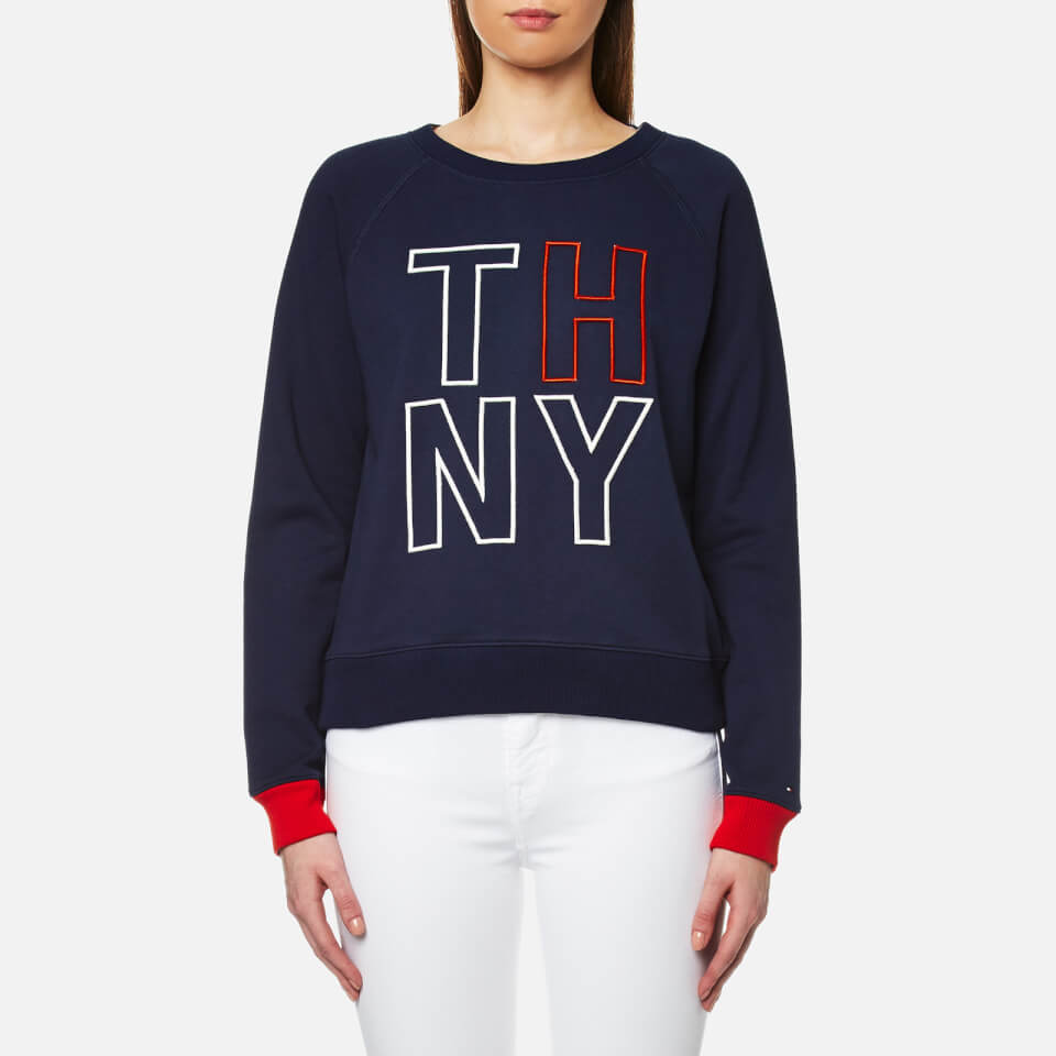 tommy-hilfiger-women-damaris-crew-neck-sweatshirt-peacoat-xs