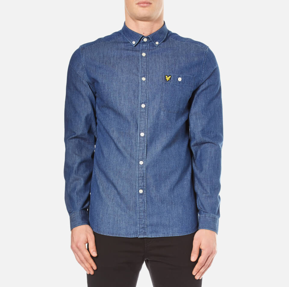 lyle-scott-men-denim-long-sleeve-shirt-light-indigo-s