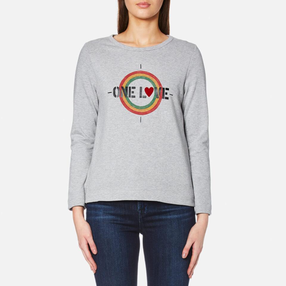 A.p.c. Womens Gramercy Sweatshirt Grey L