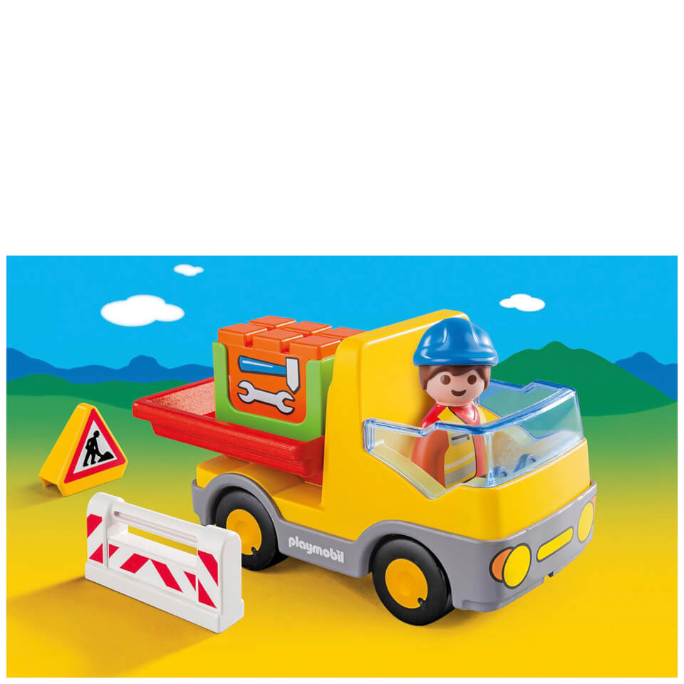 playmobil-123-construction-truck-6960