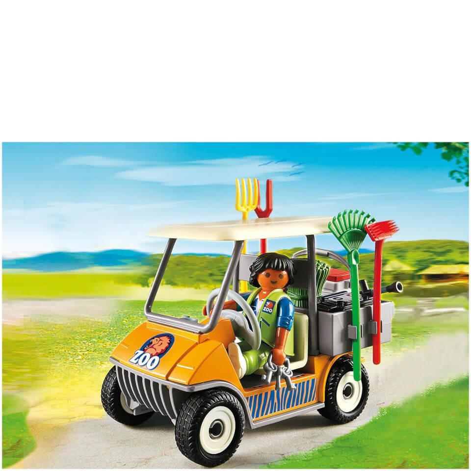 playmobil-zookeeper-cart-6636