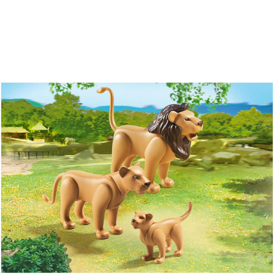 playmobil-lion-family-6642