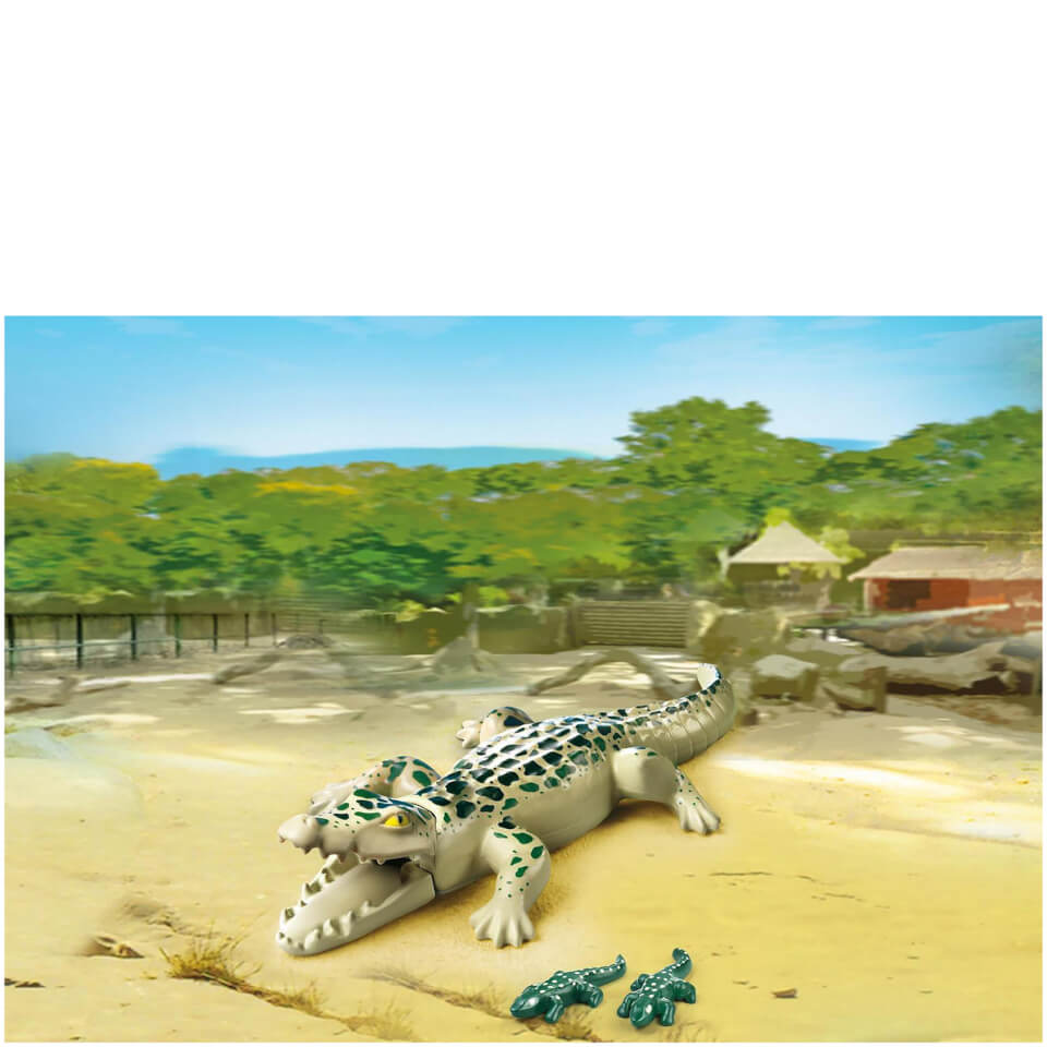 playmobil-alligator-with-babies-6644