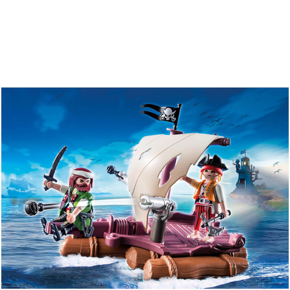 playmobil-pirate-raft-6682