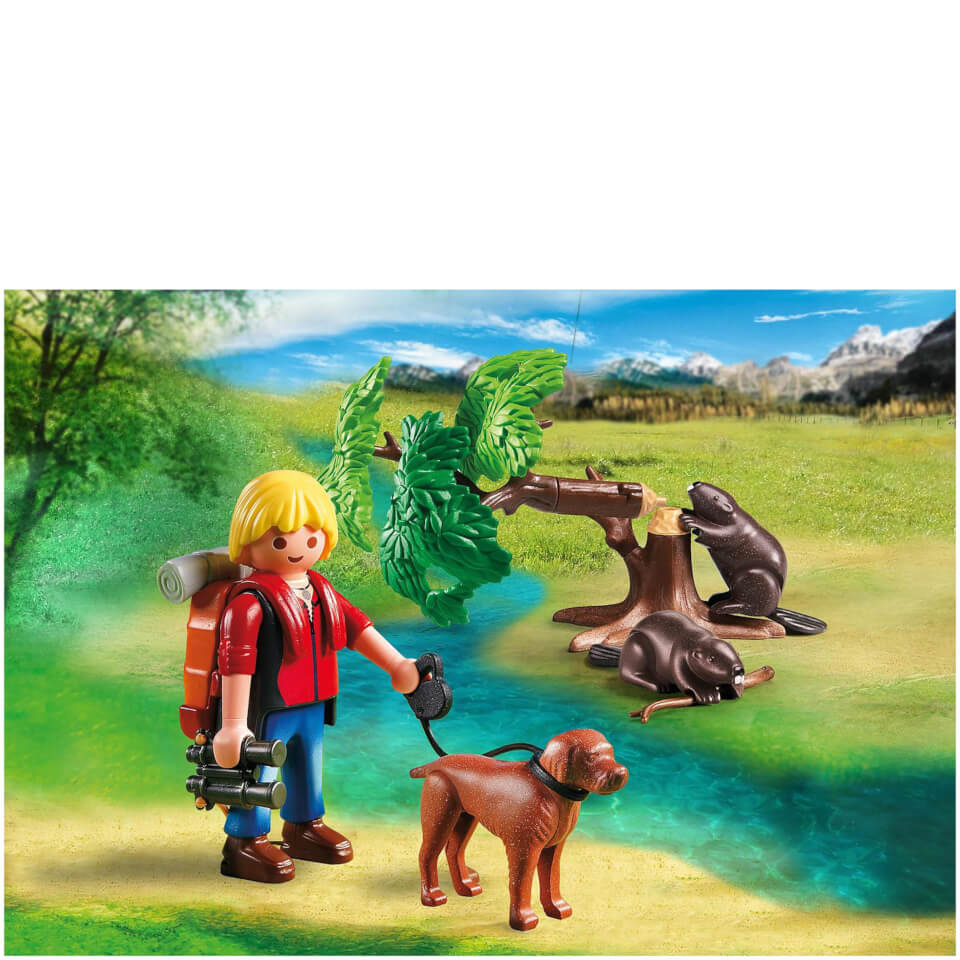 playmobil-beavers-with-backpacker-5562
