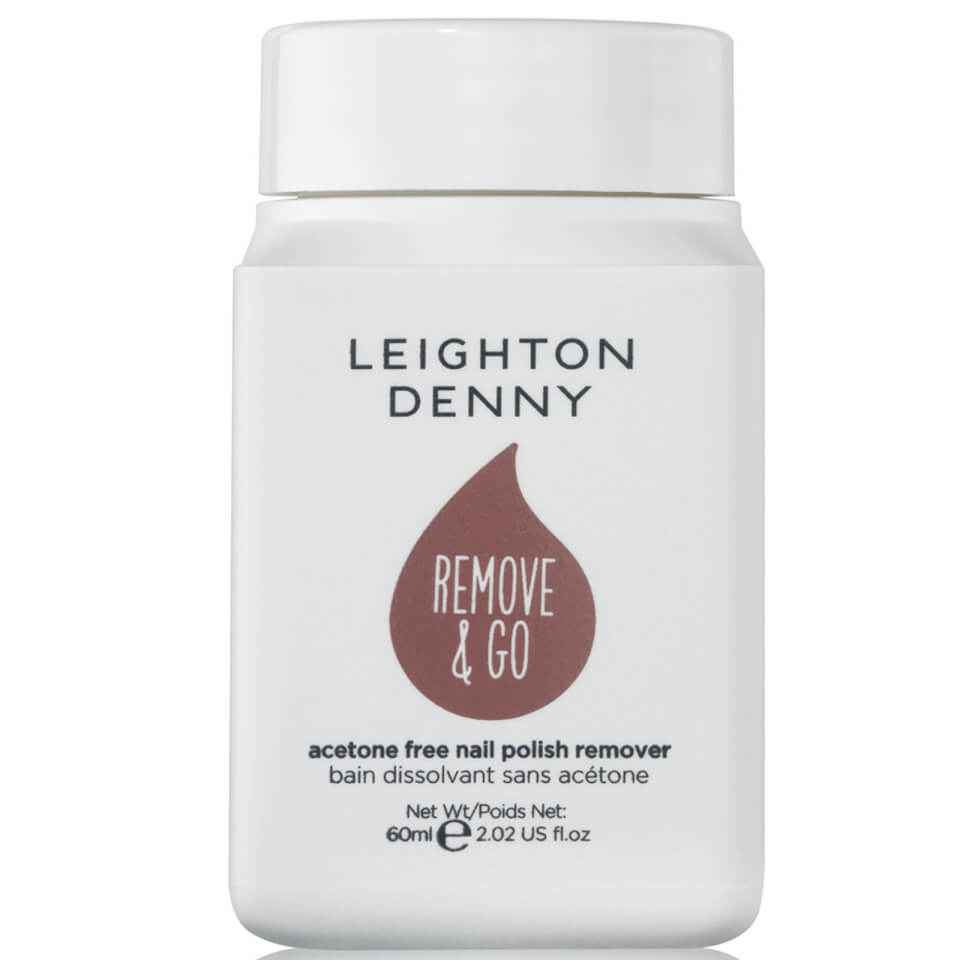 Leighton Denny Remove and Go Polish Remover - Salted Caramel