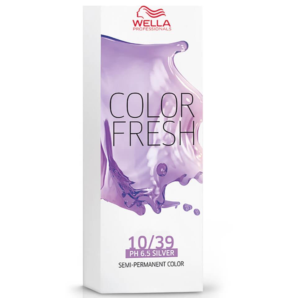 Wella Color Fresh Toning 1039 Lightest Blonde Gold Cendre 75 ml
