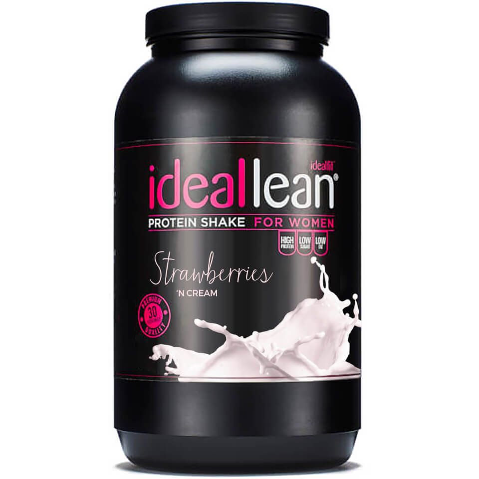 ideal-lean-protein-strawberries-n-cream