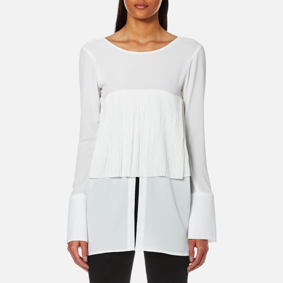 house-of-sunny-women-v-neck-blouse-ivory-6