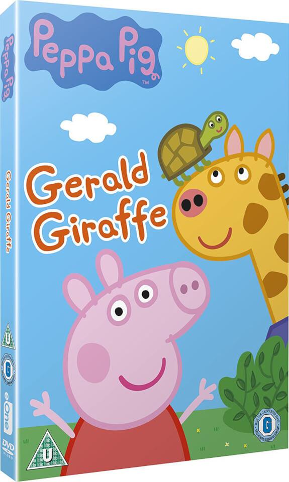 Peppa Pig Gerald Giraffe Dvd Zavvi