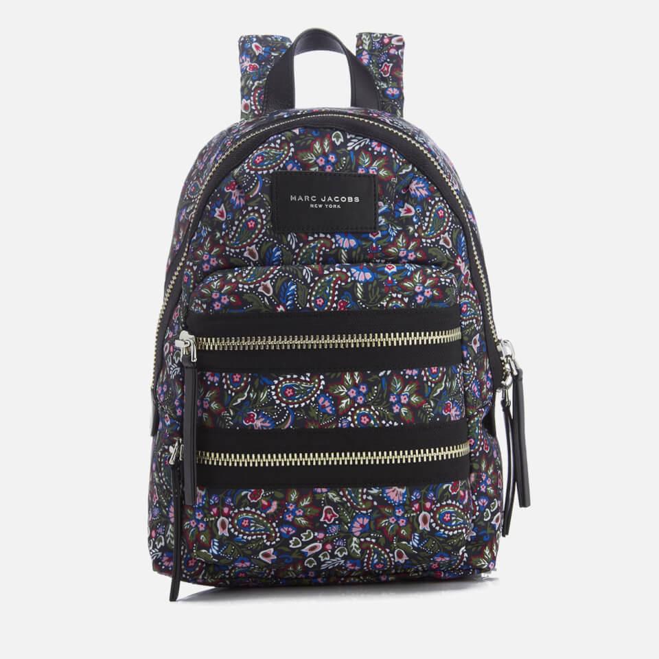 Marc Jacobs Womens Biker Mini Backpack Purple/multi
