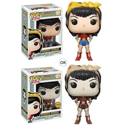 DC Bombshells Wonder Woman Pop! Vinyl Figur