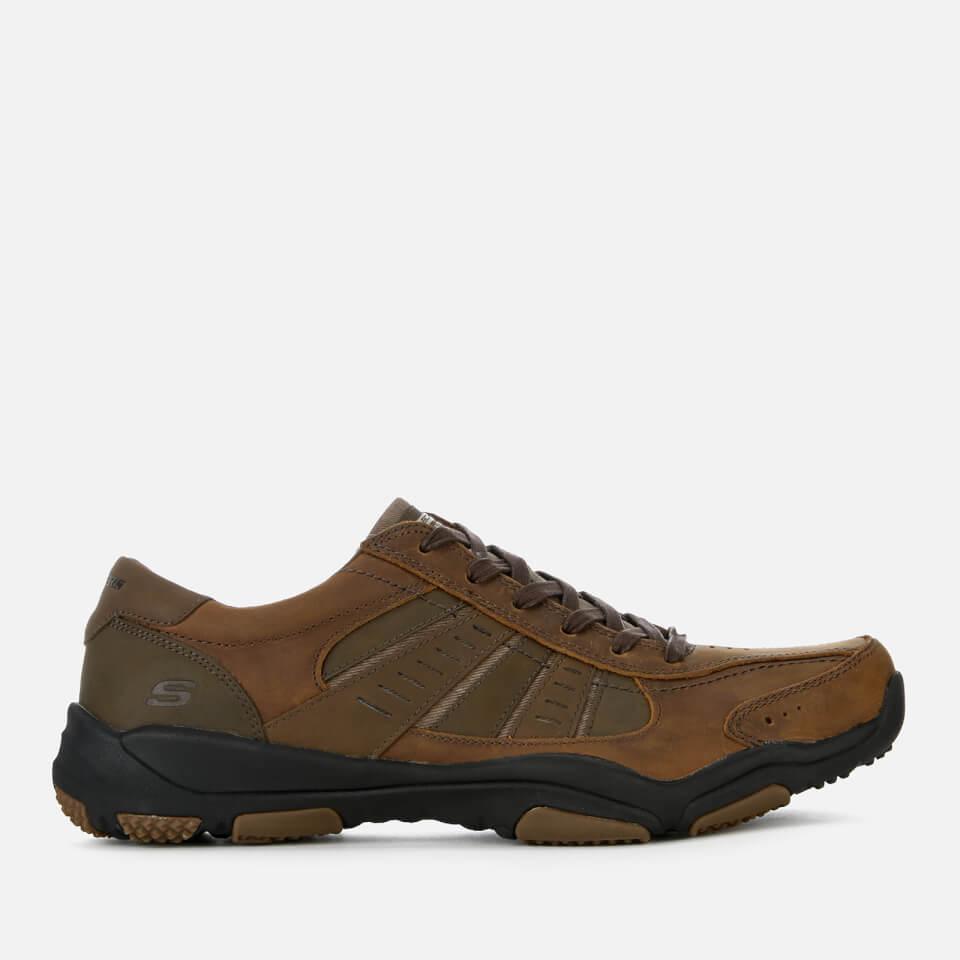 Zapatillas Skechers Larson Nerick - Hombre - Marrón oscuro - UK 8/EU 42 - Brown