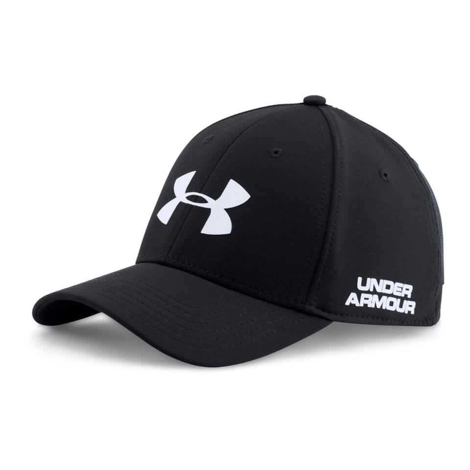 under-armour-men-golf-headline-cap-black-white-m-l