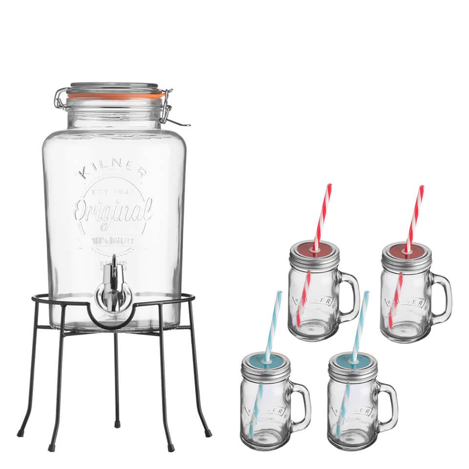 kilner-drinks-dispenser-gift-set