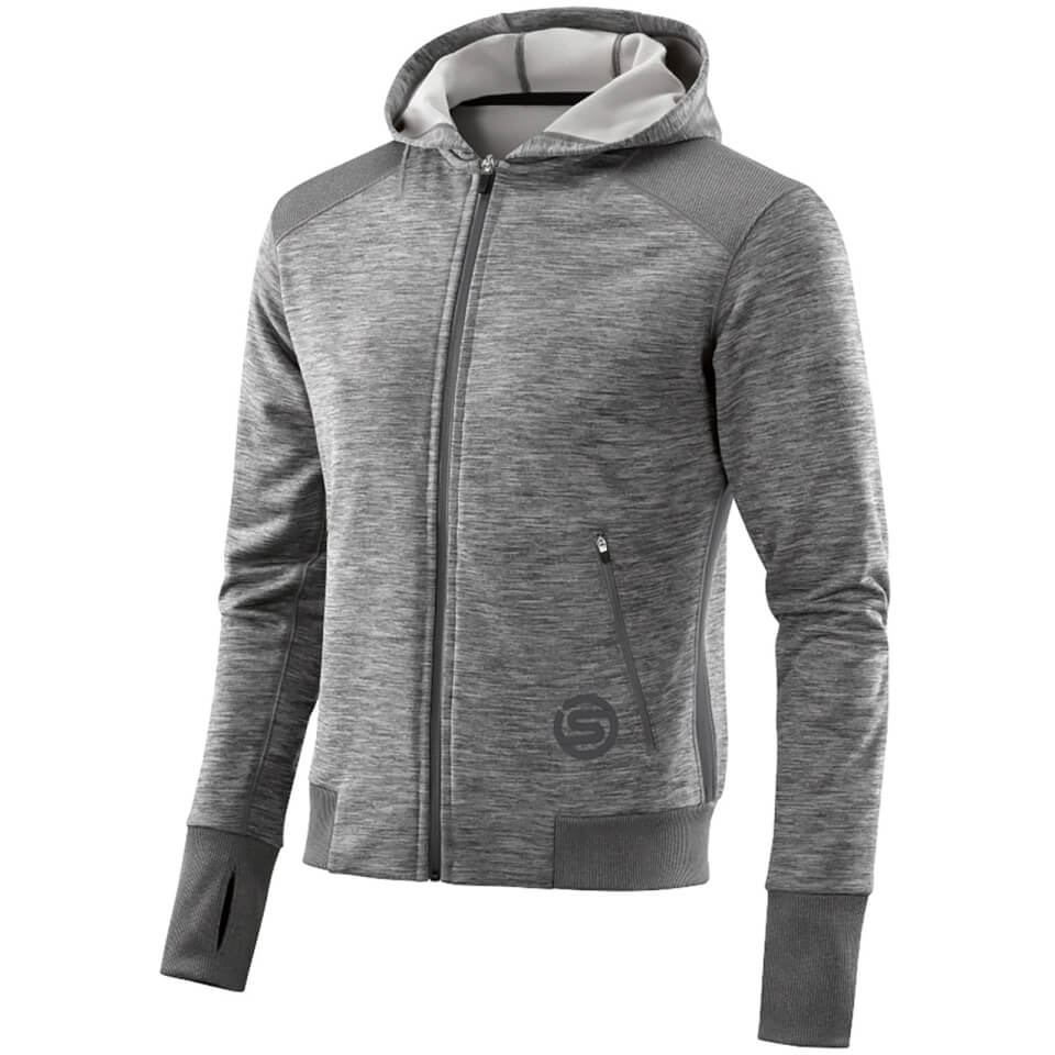 skins-plus-men-signal-tech-fleece-hoody-clay-marle-xl-grey